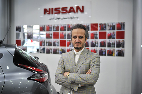 Authorized dealership of Nissan in Iran has achieved first score of costumers' satisfaction for after sales services
