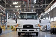 Opening of production line for Hyundai trucks in Iran Khodro Diesel