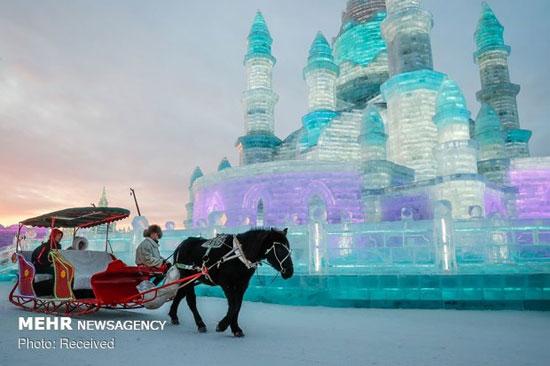 جشنوارهی برف و یخ «هاربین» در چین