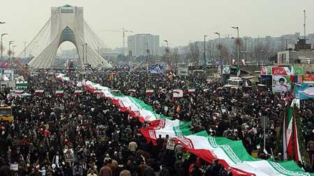 مسیرهای دوازدهگانه راهپیمایی ۲۲ بهمن
