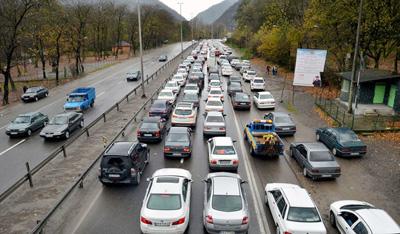 آخرین وضعیت ترافیکی راه کشور 26 فروردین