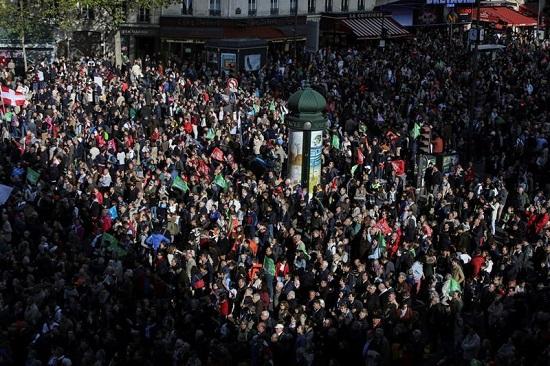تظاهرات فرانسویها علیه لایحه دولت