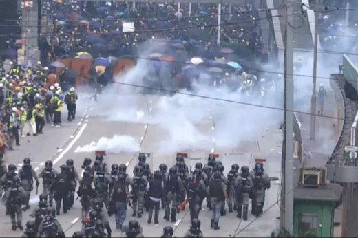 ورود ارتش چین به ناآرامی های هنگ کنگ