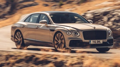 بنتلی Flying Spur بلک لاین