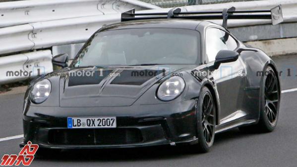 128470 300 تصاویری از پورشه 911 GT3 RS با بال عظیم الجثه